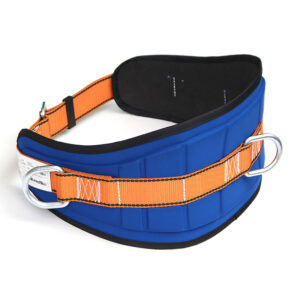 Work positioning belts and devices
